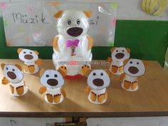 paper cup bear craft