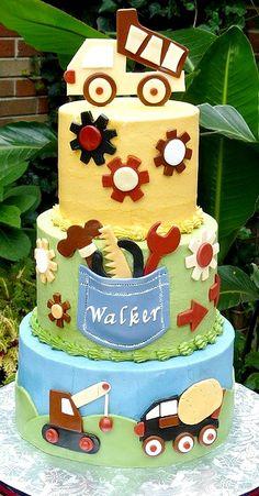 Little Builder Cake