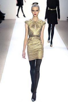 Monique Lhuillier Fall 2007 Ready-to-Wear Fashion Show - Carol Sippel