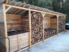 Outdoor Pallet 724938871249190769 - abris bois palettes Source by Outdoor Firewood Rack, Firewood Shed, Firewood Storage, Backyard Projects, Outdoor Projects, Portland House, Barn Renovation, Wood Store, Backyard Retreat