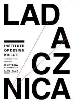 Jeszcze do poniedziałku można oglądać wystawę plakatów Ladacznica! #ladaczica #idkkielce #weronikarafa