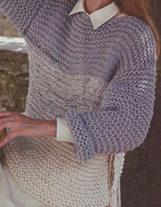 Big Needle Knitting Sweater Patterns : 1000+ images about Large Hook and Needle Patterns on Pinterest Pullover swe...