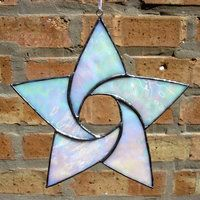 Stained Glass 5 Point Star by bigblued