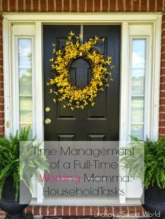 Lindsay's Sweet World: Time Management of a Full-Time Working Momma: Household Tasks - how I save loads of time doing laundry, cleaning house, and getting all of those other pesky daily tasks done!
