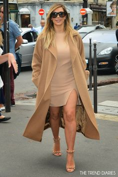 Kim Kardashian out during Paris Fashion Week 2013 in Paris, France - September 30, 2013 | The Trend Diaries - Latest Celebrity Style, Fashio...