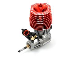 A new crank design highlights the new-for-2012 Go Technology G5T 5+2 Port .21 Competition Buggy Engine (Turbo Plug)
