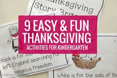 9 Easy And Fun Thanksgiving Activities For Kindergarten on All About Kindergarten 4373 Thanksgiving Story For Kids, Thanksgiving Videos, Thanksgiving Activities For Kindergarten, Thanksgiving History, Thanksgiving Worksheets, Kindergarten Activities, Alphabet Coloring Pages, Stories For Kids, Fun Learning