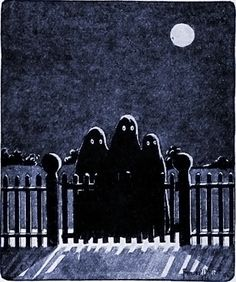 A Vintage Halloween • danskjavlarna:  From St. Nicholas magazine, 1920.