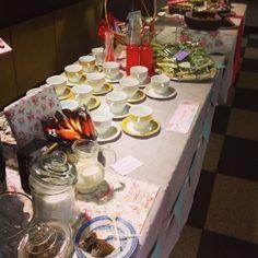 vintage fair tea party