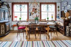 Vardagsrum och matsal