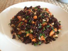 Forbidden Rice Pilaf via thefoodiejournal.com.