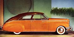 1942 Packard Clipper Custom Club Sedan...Packard was the first with air conditioning in an American car....bless them !