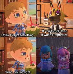 Animal Crossing Fan Art, Animal Crossing Memes, Foxy And Mangle, Schmidt, Funny Comic Strips, Image Fun, Cute Games, Gaming Memes, Funny Comics