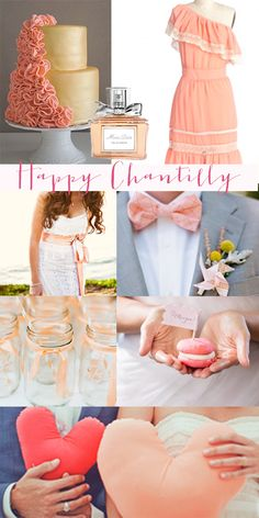 Moonboard inspiration: mariage couleur pêche