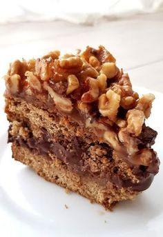 Nowa Ja - jak być FIT po 40-stce: Bezglutenowy FIT Orzechowiec Sweet Recipes, Cake Recipes, Snack Recipes, Healthy Recipes, Snacks, Cinnabon, Love Eat, Healthy Sweets, Food Inspiration