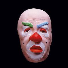 Careta de Payaso #mascaras #antifaces #carnaval
