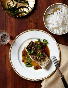 Ann Redding and Matt Danzer's Recipe for Cod Drenched in Lime-Chili Nam Prik