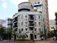 Waseda El Dorado, near the campus of Waseda University in Tokyo by The Japanese architect Von Jour Caux