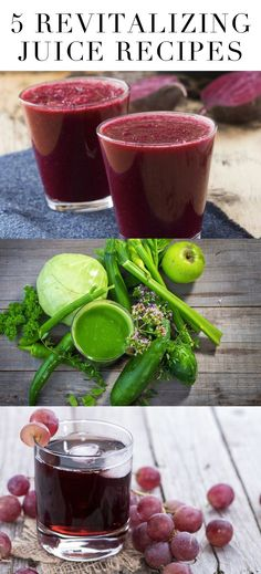 5 Revitalizing Juice Recipes to Nourish Your Body + Promote Health