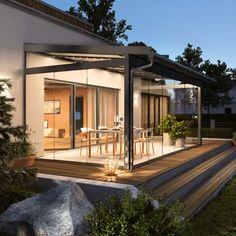 Wintergärten zum Wohnen - Aktuelles - Fenster Schmidinger Wooden Door Design, Wooden Doors, Style At Home, Architecture Design, Exterior, House Design, Mansions, House Styles, Porches