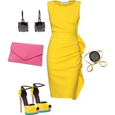 Bright colors!, created by bonnaroosky on Polyvore
