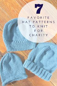 A Lively Hope: Seven Favorite Hat Patterns to Knit for Charity