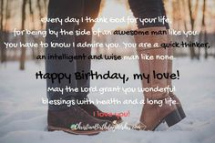 Birthday Wishes for Husband! | 90 Birthday Quotes & Prayers for Husband