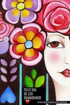 karina chavin pinturas - Buscar con Google