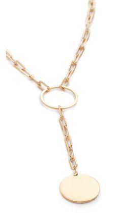 Marla Lariat Necklace