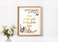 Gold Quote Gold Letter Print May God Give You Irish Blessing Quote Wedding .