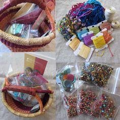 bead and fiber basket kit