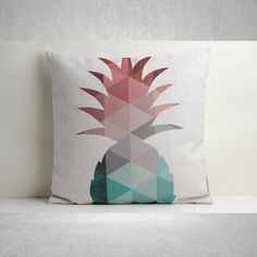 pineapple home accessories colourful geometric cushion cover