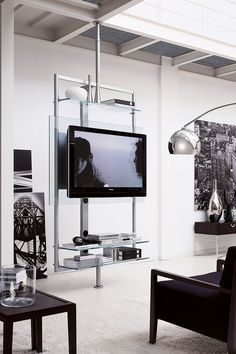 Contemporary Minimalist Television Stands That Redefine The Dwelling Place | Home Decor