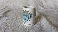 Vintage Wiesbaden Arzberg Miniature Souvenir Porcelain Mug