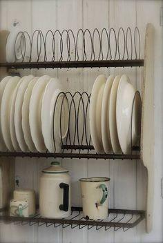 secadero de platos amurado