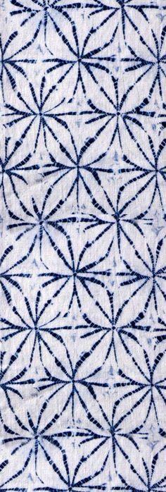 Traditional blue & white. Shibori