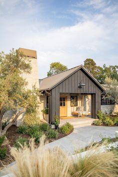 Studio Mcgee, Solar, Iron Balusters, Porch Area, Landscape Elements, Dutch Door, Built In Bench, Home Studio, Houzz