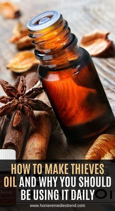 25 Simple Ways to Use Thieves Oil - Tipsaholic Natural Cough Remedies, Natural Health Remedies, Natural Cures, Herbal Remedies, Natural Healing, Natural Oil, Cold Remedies, Holistic Healing, Natural Treatments
