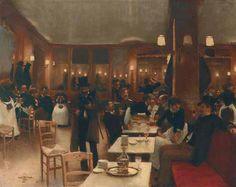 1883........LA BRASSERIE.................................PARTAGE DE LE PEINTRE JEAN BERAUD.........SUR FACEBOOK.........