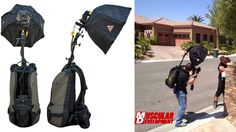Backpack Flash Turns You Into a One-Person Photography Studio