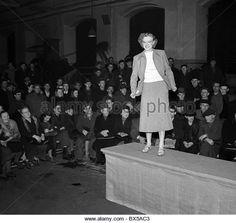Czechoslovakia (Czech Republic), fashion show, textile, clothing - Stock Image