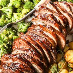 Crock Pot Pork Loin Brine Pork Loin, Brine For Pork, Chicken Fricassee, Sour Cream Sauce, Gnocchi Soup, Carlsbad Cravings, Cilantro Lime Chicken, Homemade Bbq, Baked Pork