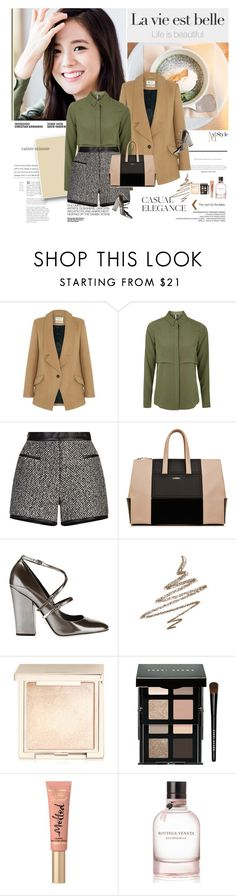 """""""Every day is a gift. Never treat life casually. To be spiritual in any way is to be amazed in every way. Do not let the pain of a situation make you hopeless. Do not let negatively wear off on you."""" by rainie-minnie ❤ liked on Polyvore featuring Hedi Slimane, Parka London, Topshop, Carven, Sergio Rossi, Anastasia Beverly Hills, Jouer, Bobbi Brown Cosmetics, Too Faced Cosmetics and Bottega Veneta"""