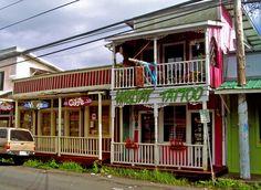Downtown Pahoa Main Street, Puna Hawaii: Photo by Donald B MacGowan