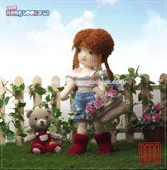 Sarah kay # Crochet# Doll # Amigurumi