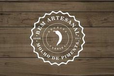 Logotipo das pimentas Bem Artesanal