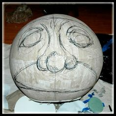 paper mache wild thing face - Google Search