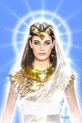 S.CEL.BL. D. ISIS Y S. de Venus  Intercambio energético para la iluminación despierta