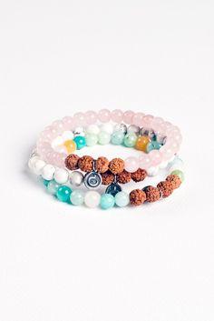 Ignite Your Inner Light Bracelet Stack – Mala Collective