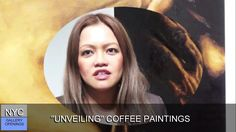 PLEIADES GALLERY - Vanessa Espinosa Coffee Painting, New York Art, Lovers Art, Nyc, Gallery, Roof Rack, New York